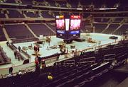 MCI construction, November 1997. The arena seats 20,000.
