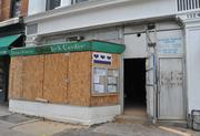 The exterior of 1342 14th St. NW is being redesigned to house Bart Vandaele's B Too restaurant.