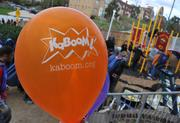 KaBOOM! is the national nonprofit dedicated to saving play for America's children by creating play spaces through the participation and leadership of communities. They helped coordinate the playground build on the grounds of DASH's Cornerstone Housing Facility on Saturday, Nov. 3.