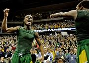 George Mason University made an improbable run to the NCAA basketball tournament's Final Four in 2006 after winning the regional final at the Verizon Center.