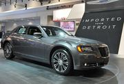 """The Chrysler 300 boasts the ad line """"imported from Detroit."""""""