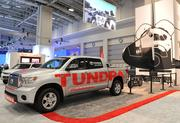 The Toyota Tundra enjoyed a new wave of popularity (and respect) after it pulled the Space Shuttle Endeavour over the Manchester Boulevard Bridge in Los Angeles in October 2012.