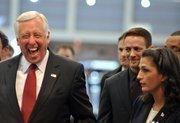 Congressman StenyHoyerenjoyed his visit to the the Washington Auto Show on Jan. 31.
