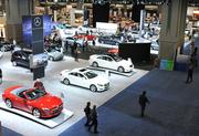 The Lower Level of the Washington Convention Center displays all the latest models from Mercedes-Benz and much more.