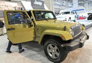 Jeep sales were up 18 percent last year, largely due to the popular Jeep Wrangler.
