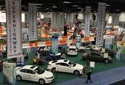 The Advanced Technology Super Highway section of the Washington Auto Show features much of the latest technology.