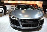 The 525 hp and 391 lb.-ft. of torque Audi R8 is on display at the 2013 Washington Auto Show.