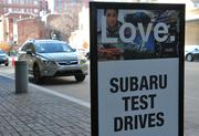 You can test drive a Subaru outside the Washington Convention Center on L Street NW at the 2013 Washington Auto Show.