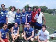 John Snow Inc.'s futbol team.