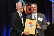 Number 1 in the  Large Business non local headquarters Category at the Washington Business Journal's 2012 Best Places to Work is Studley, Inc.