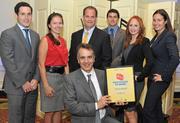 Studley ranked number one in the Large Business non local headquarters Category at the Washington Business Journal's 2012 Best Places to Work.
