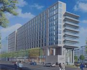 AAMCThe Association of American Medical Colleges is building a 290,000-square-foot headquarters at 655 K St. NW. The association has tapped Hines Interests LP to develop its new home, which was designed by Shalom Baranes Associates and is being built by Clark Construction. Completion is planned for late spring 2014.