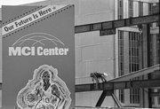 MCI Center construction, October 1996.