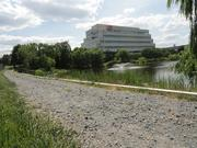 AOL Inc.'s Dulles office features a walking trail for employees.