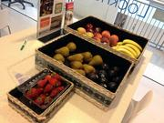 Deltek provides free fruit for its employees in the morning.
