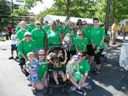 Team Deltek at the Juvenile Diabetes Research Foundation Walk in Lansdowne on May 20.