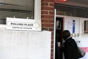 Arlington polling places were packed with voters in Rosslyn hoping to  cast their ballot for several close races.