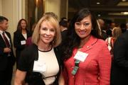 Nicole Geller, left, CEO and founder of GCS Inc., with Lani Hay, president and CEO of Lanmark Technology Inc., at the Fastest Growing Companies Awards.