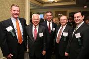 From FCi Federal, Tom Leupp, from left, Dick Braun, Kevin Mozer, Doug Hall and John Coleman at the Fastest Growing Companies Awards.