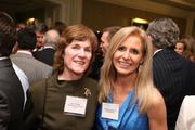 Betty Arbuckle, left, from Washington Financial Group, and Stephanie Eberhart from TalentRemedy at the Fastest Growing Companies Awards.