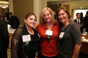 From Quadrant Inc., Stephanie Paul, Julie Terhaar and Merry Jones at the Fastest Growing Companies Awards.