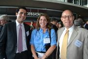 From left, Ali Fardshisheh of Stanley Martin Commercial, Mary Wasaff of BB&T Bank, and Craig Pascal of BB&T Bank.