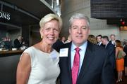 Catherine Meloy of Goodwill of Greater Washington with John Kane of Office Movers.
