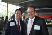Vernon Holleman, left, of The Holleman Cos., with Mike Petruccelli of ClearPath.