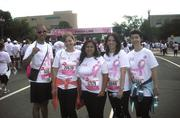 A group of MBP team members after they participated in the 2012 Susan G. Komen Race for the Cure walk.