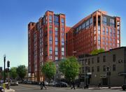 M.FLATSKettler Inc. plans a 13-story apartment building at 450 K St. NW, with 233 units and about 7,000 square feet of retail space. Work is expected to begin this month. R2L: Architects PLLC designed the project.