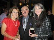 From left, former Ambassador to Macedonia Ljubica Acevska, now of Pencils 4 Kids International, Dr. Joe Novello and Pat Collins.