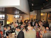 The crowd checks out Tony and Joe's 2.0 during the Oct. 23 re-opening.