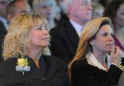 Honorees Robin Portman and Kymm McCabe at the 2012 Washington Business Journal's Women Who Mean Business ceremony.
