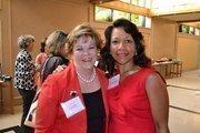 Lynda Ellis, from Capitol Concierge, left, and Brenda Harrington from Adaptive Leadership Strategies.