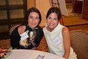 The Leukemia & Lymphoma Society's Yana Vinnikov, left, and Jennifer Haberat the Women Who Mean Business breakfast.