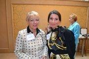 Susan Moser, left, from Cherry Bekaert & Holland LLP, with Yana Vinnikov from the Leukemia & Lymphoma Societyat the Women Who Mean Business breakfast.