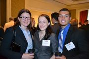 From left, Meaghan Hearn, Angell Garrigan and Kody Silva, all from Ackerman Brown LLC.