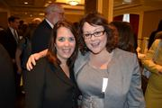 Cassaday & Co.'s Marketing Manager Kara Mauceri, left, with Natalie Oddenino from Helios HR.