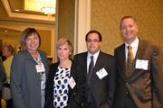 From WJ Technologies, Cindy Kalkwarf, left, Karen Louis, member-in-charge, Jason LeMaire and Tony Bowser.