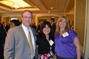 From Wells Fargo Insurance, Ted Cadmus, managing director; Myrna Smith and Toby Roomets.