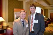 Doug Sampson, left, with Matt Pincombe, both from Excella Consulting, Inc.