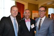 From left, Anthony Shop from Social Driver, Mark Guenther from the Capital Area Gay and Lesbian Chamber of Commerce, and Chris Brown, partner at Ackerman Brown PLLC.