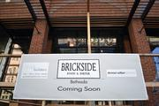 Demian Wilbur Architects is designing the space for Brickside Food & Drink and Chris Papadopoulos of Green Solution for Architecture Inc. is doing the buildout.