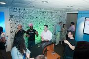 Gryphn hosted a Cake & Scotch Party for friends and investors to celebrate its new office at 1707 L St. NW.
