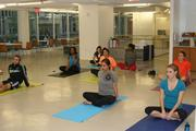 CoStar Group Inc. employees can attend on-site yoga classes offered three times a week at its D.C. headquarters.