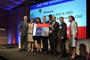 Penzance took home the CREW D.C. award for Dealmaking for its prelease of 3001 & 3003 Washington Boulevard to CNA.