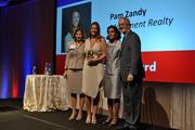 CREW D.C.'s Rising Star Award was given to Pam Zandy from Monument Realty.