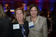 Deborah Ohlmacher, left, from Clark Enterprises Inc., and Betsy Karmin from DLA Piper LLP at the CREW D.C. Awards.