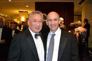 Allen Lew, left, D.C. city administrator, with Mitchell Schear, president of Vornado/Charles E. Smith L.P. at the D.C. Building Industry Association's annual awards dinner.