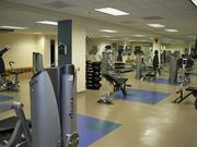 The fitness center at Duke Realty.